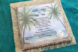 Thailand Wedding Invitation Card Green Oceanside Wedding Celebrating In Eco Friendly Style Visit