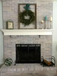 100 painted brick fireplace makeover how decoration