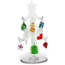 glass tree frosted glass tree with 10