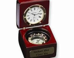 Nautical Desk Clock Nautical Desk Etsy