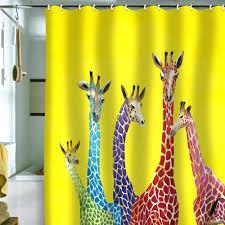 Orange And Blue Shower Curtain Orange Shower Curtain Liner Home Decorating Interior Design