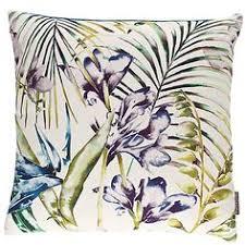 John Lewis Cushions And Throws Harlequin Takara Cushion Teal Ink Soft Furnishings Room