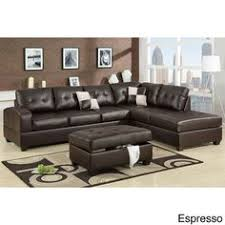 Discount Leather Sectional Sofas Brown Wrap Around Reggae Vibes Two Sectional Sofa