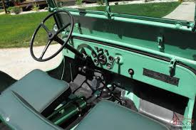 willys jeep interior 1946 willys cj2a