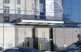 Building Awning Glass Canopy U0026 Glass Awning Ny Metro Area Nyc Glass Works