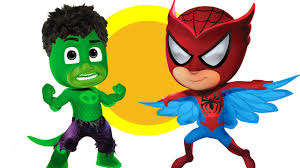 Spiderman Halloween Coloring Pages by Pj Masks Spider Man Hulk Coloring Pages For Kids Pj Masks