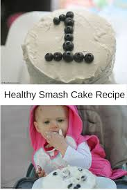 baby awesome u0027s 1st bday healthy smash cake recipe fit awesome