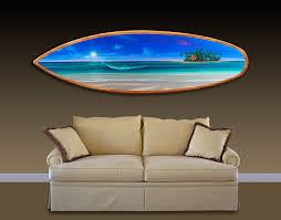 surfboard wall art home decorations wall decor decorative surfboards to hang on wall huge large