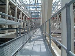 Temporary Handrail Systems Catwalk Guardrails And Fall Protection Solutions