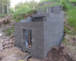 How To Build A Storage Shed Foundation by Concrete Block Sheds