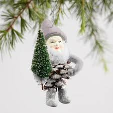 pinecone gnome ornaments set of 3 world market