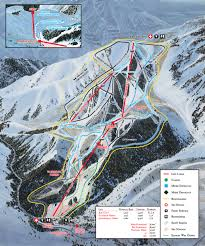 Colorado Ski Resort Map by Sundance Ski Resort Terrain Snow Lifts