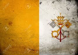 Old Sudan Flag Flag Of The Vatican City On Old And Vintage Grunge Texture Stock