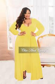all white plus size jumpsuit plus size jumpsuit with attached skirt in yellow chic