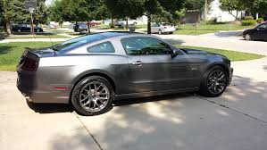 2014 mustang gt track package review widest tire on a track pack wheel the mustang source ford
