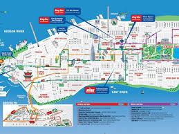 Map Of Midtown Manhattan Download Manhattan Sights Map Major Tourist Attractions Maps