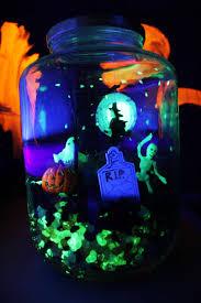 Halloween Bat Lights by Halloween Crafts Glow In The Dark Terror Arium