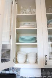 Adding Shelves To Kitchen Cabinets How To Add Glass To Cabinet Doors Confessions Of A Serial Do It