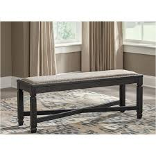 ashley dining table with bench d736 00 ashley furniture tyler creek upholstered bench