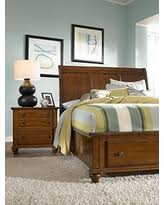 Cherry Sleigh Bed Spectacular Deal On Mill Valley Ii Cherry 3 Pc Queen Sleigh Bed W