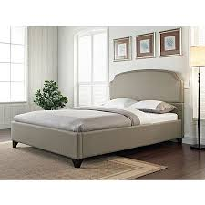 King Bed Frame Upholstered Maison Eastern King Upholstered Bed Pebble Walmart