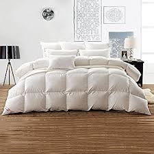 What Is The Best Material For Comforters Amazon Com Luxurious 1200 Thread Count Goose Down Comforter