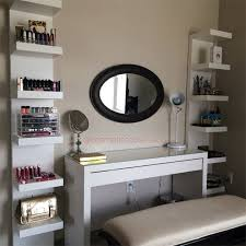ikea makeup vanity 25 diy makeup storage ideas that will save your time
