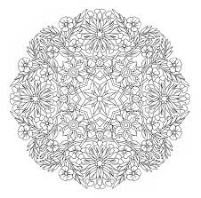 advanced coloring pages printable flowers in printable advanced