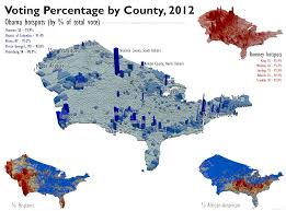 2012 Election Map by Under The Raedar Us Election 2012 County Level Results
