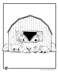 Farm Animal Coloring Pages Woo Jr Kids Activities Farm Color Page