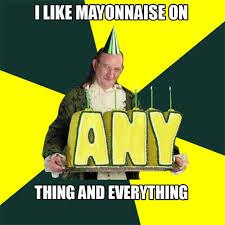 Mayonnaise Meme - creepyman franklin our new founding father meme harold