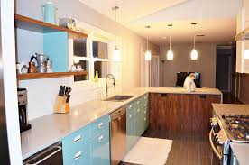 Sam Has A Great Experience With Powder Coating Her Vintage Steel - Retro metal kitchen cabinets
