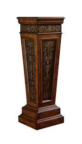 amazon com pulaski pedestal table kitchen u0026 dining