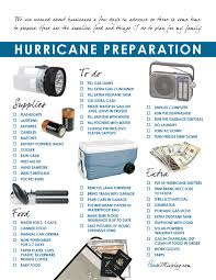 hurricane preparation checklist and grocery list house mix