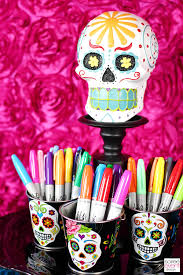 Decorate Your Own Day of the Dead Sugar Skulls