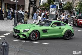 green mercedes benz green prior design mercedes amg gt s screams hulk