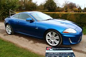 jaguar xk type 2009 09 plate jaguar xkr 5 0 coupe finished in metallic kyanite