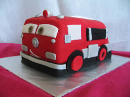 firetruck cakes piped dreams truck from cars birthday cake