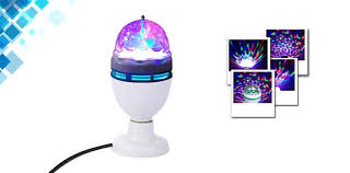 Rotating Disco Ball Light Full Color Rotating Led Disco Ball Lamp 50 Off