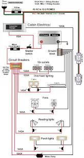 wiring diagram electrical pinterest teardrop trailer rv and