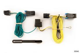 2003 2017 chevy van curt mfg trailer wiring kit 55540