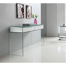 ibiza console table white lacquer casabianca furniture modern