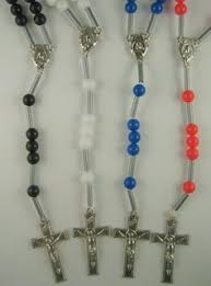 rosary kits 84 r st therese cord mission kit makes 100 rosaries rosary