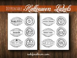 halloween party names diy halloween food ideas with printable labels