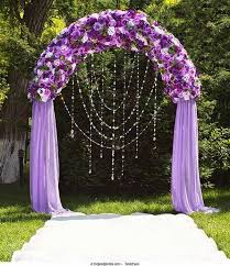wedding arches decorated with flowers 20 beautiful wedding arch decoration ideas royal purple wedding