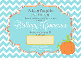 monkey invitations baby shower pumpkin baby shower invitations theruntime com