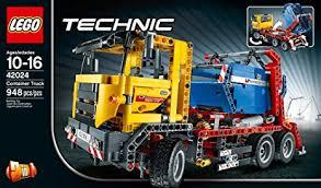lego technic amazon com lego technic 42024 container truck toys