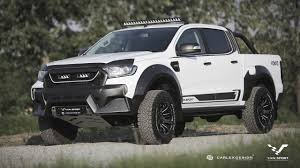 Ranger Svt Raptor M Sport Creates Muscly Raptor Like Ford Ranger For Europe
