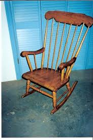 Old Man In Rocking Chair Chair Doc Of Boone Repairing Caning Antiques Rush Refinishing