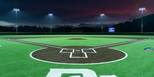 led ball field lighting project showcase musco sports lighting